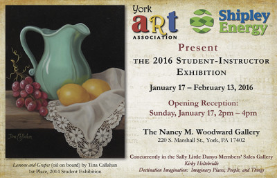 2016 Student-Instructor Exhibition