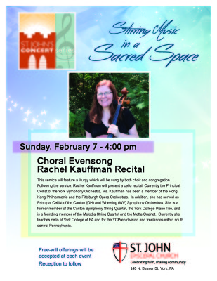 St. John Episcopal Church Choral Evensong and Concert