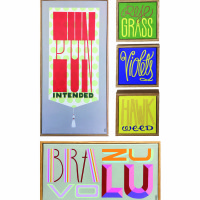 Melanie M. Rodgers: Typographic Paintings!