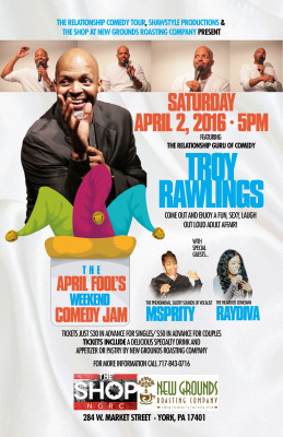 THE APRIL FOOLS WEEKEND COMEDY JAM