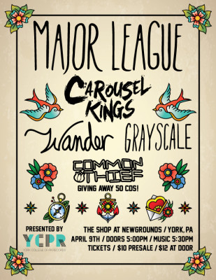 Major League with Carousel Kings and More at The Shop at Newgrounds!