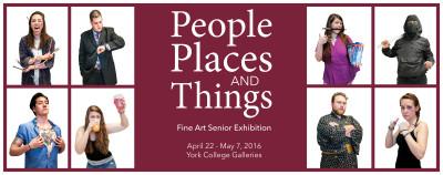 York College of Pennsylvania Fine Art Senior Exhibition