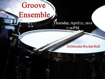 York College of Pennsylvania Groove Ensemble