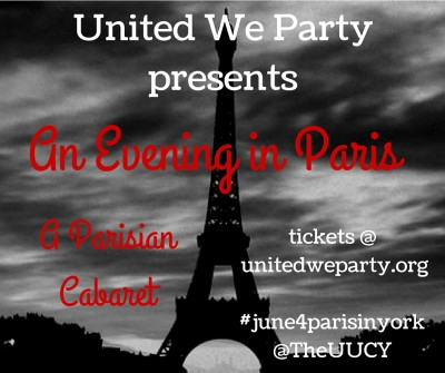 "An Evening in Paris ""A Parisian Cabaret"""