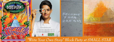 First Friday Block Party: Write Your Own Story