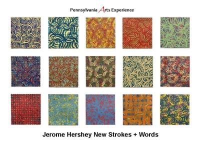 Jerome Hershey New Strokes + Words