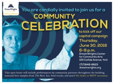 DreamWrights Community Celebration