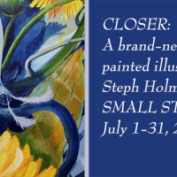 "Exhibit: Brand-new series by Steph Holmes, ""Closer"""