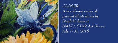 First look at new series by Steph Holmes; meet the artist