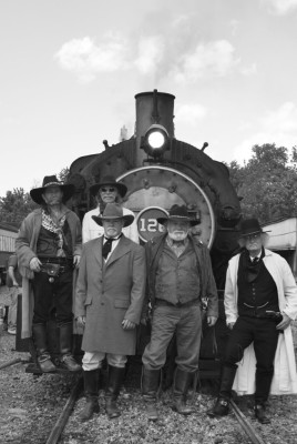 James-Younger Gang, Train Robbery for Charity