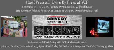 Hard Pressed: Drive By Press at York College of Pennsylvania