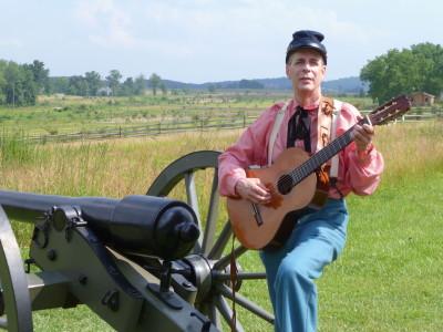 Jeff Greenawalt on the Glen Rock Express