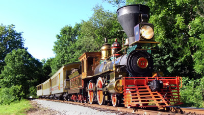 Steampunk Railroad Flyers