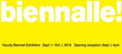 York College of Pennsylvania Faculty Beinnial Exhibition