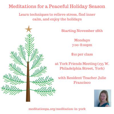Meditations for a Peaceful Holiday Season