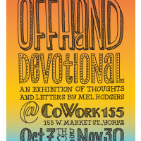 Opening Reception: Offhand Devotional