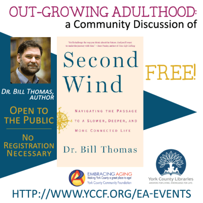 Outgrowing Adulthood: A Community Discussion