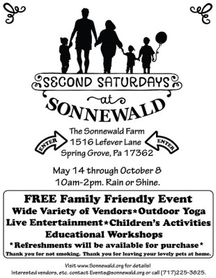 Second Saturdays at Sonnewald