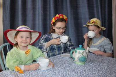 Tea Party with Beatrix Potter and Peter Rabbit