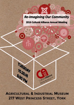 Re-Imagining Our Community: Cultural Alliance Annual Meeting