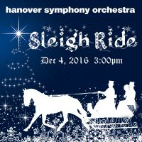 Sleigh Ride: A Hanover Symphony Orchestra Christmas