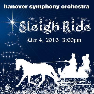 Sleigh Ride: A Hanover Symphony Orchestra Christmas