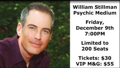 William Stillman, Psychic Medium