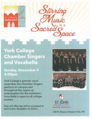 York College Chamber Singers and Voca Bella