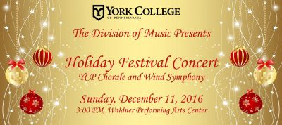 York College Holiday Concert