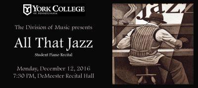 York College Student Piano Recital