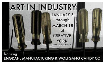 Art In Industry Exhibit at Creative York