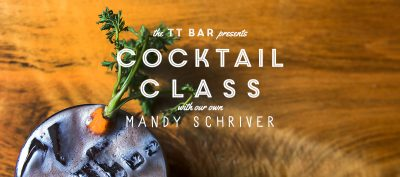 Cocktail Class with Mandy Schriver
