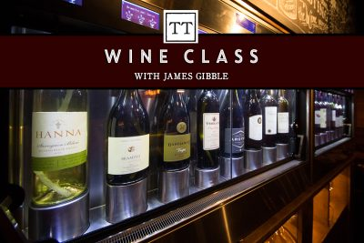 Wine Class with James Gibble
