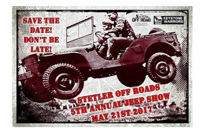 5th Annual Stetler Off-Road Jeep Show
