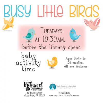 Busy Little Birds: baby activity time
