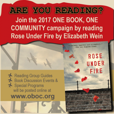 Rose Under Fire Book Discussion at The Red Brick Bakery!