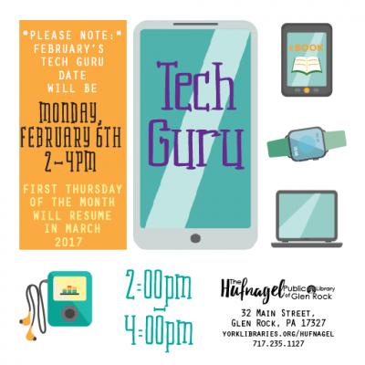 Tech Guru: SPECIAL DATE!