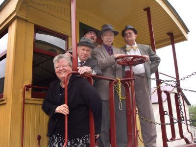 Murder Mystery A reality TV series is the backdrop for thon the Hanover Junction Railroad Experience