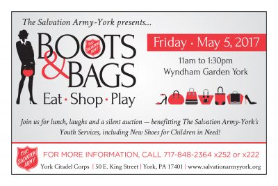 The Salvation Army of York Boots & Bags Luncheon