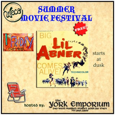 August's First Friday movie: Li'l Abner