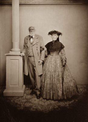 General and Mrs. Lee on the Hanover Junction Limited