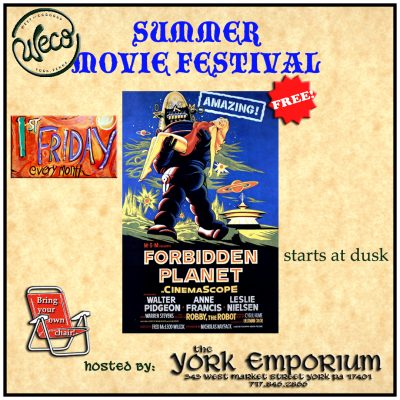 June's First Friday movie: Forbidden Planet