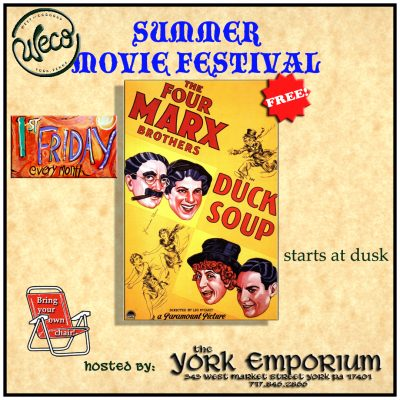 May's First Friday movie: Duck Soup