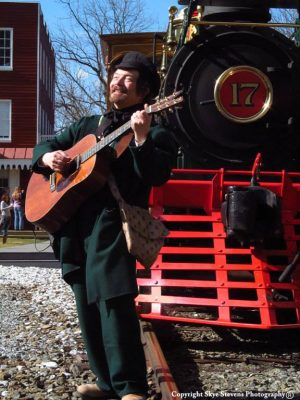 Welcome Back Steam with Kent Courtney on the Glen Rock Railroad Experience
