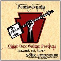 Pennsylvania Cigar Box Guitar Festival