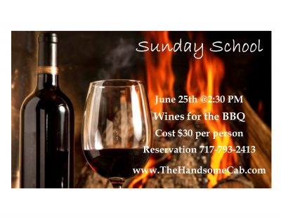 Sunday School - Wines for the BBQ