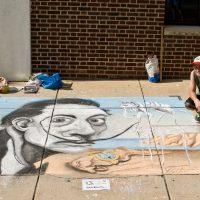 Chalk Walk : Sidewalk Chalk Mural Competition
