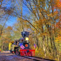 Fall Foliage on the Hanover Junction Railroad Expe...