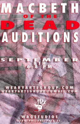 MacBeth of the Dead Auditions