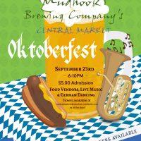 Mudhook's Central Market Oktoberfest
